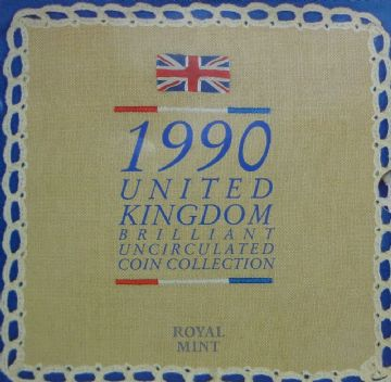 1990 Brilliant Uncirculated Coin Collection